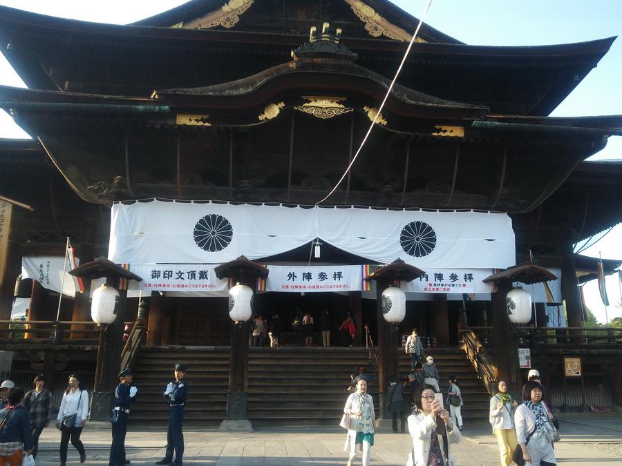 善光寺に参拝してきました。